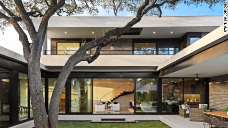 This new construction home in Austin was listed by Thomas Brown's firm and sold for $560,000 over the list price.