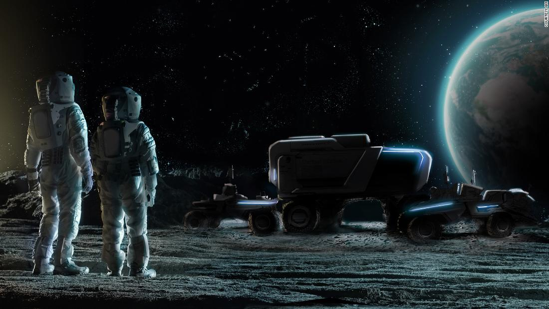 GM and Lockheed Martin team up to put new Lunar Rovers on the moon