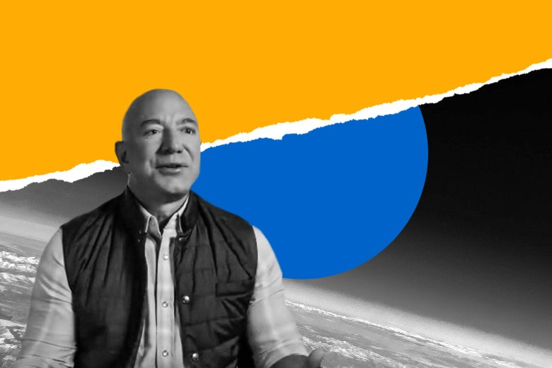 Why is Jeff Bezos going to space?