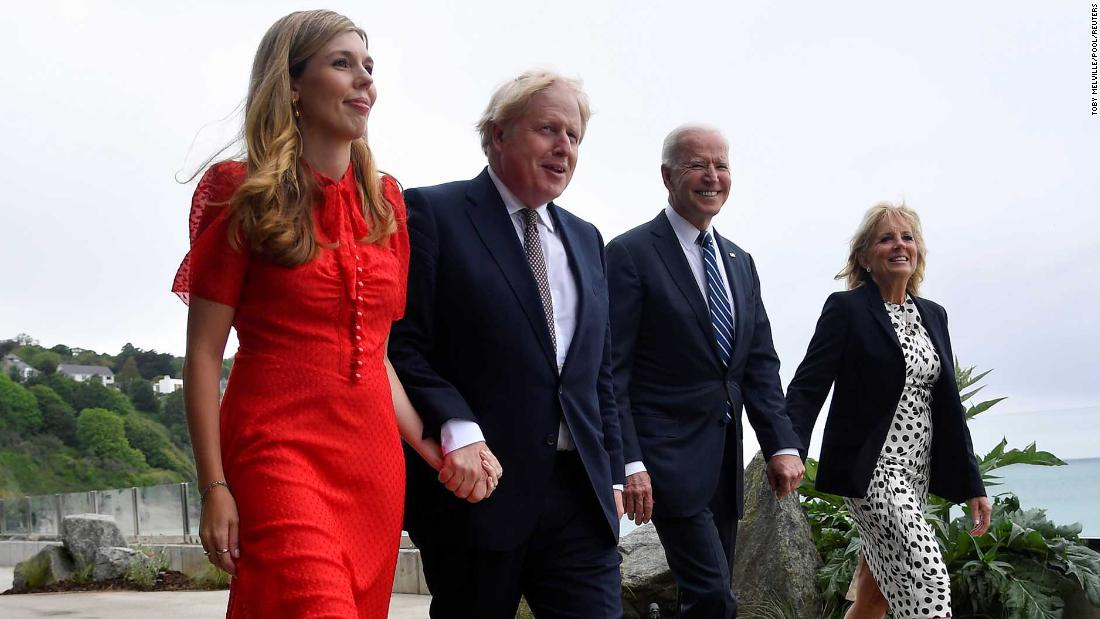 Carrie Johnson steps onto global stage with G7