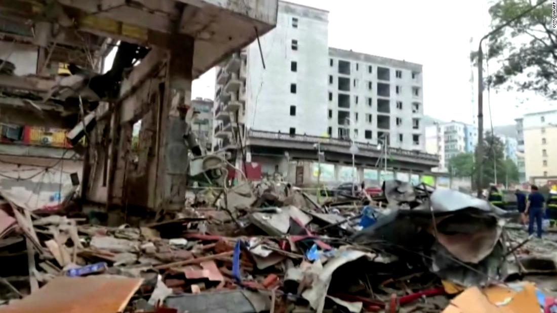 Gas explosion in Chinese city: What we know - CNN Video