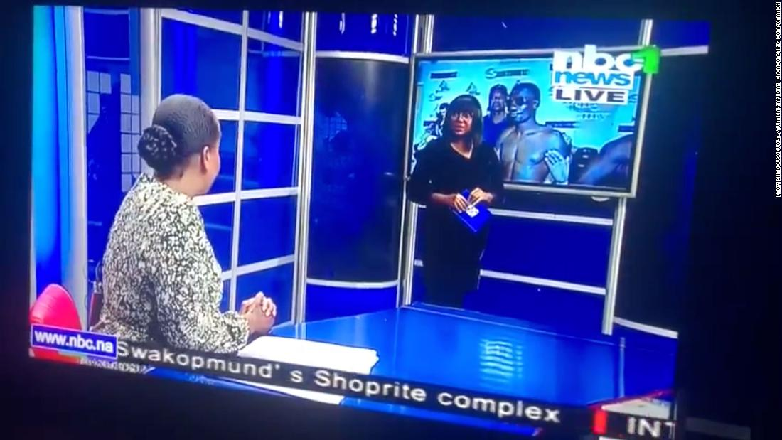 'Jessica, we are live': Excruciating Namibian on-air gaffe goes viral