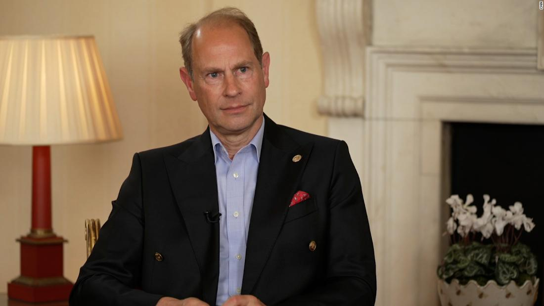 Prince Edward discusses the Sussexes, the bereaved Queen and his father's legacy