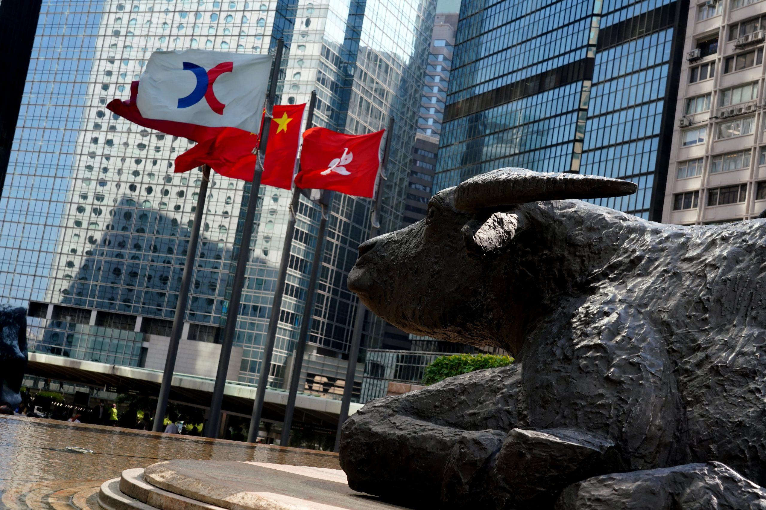 Hong Kong jumps nearly 2%; bitcoin price bounces