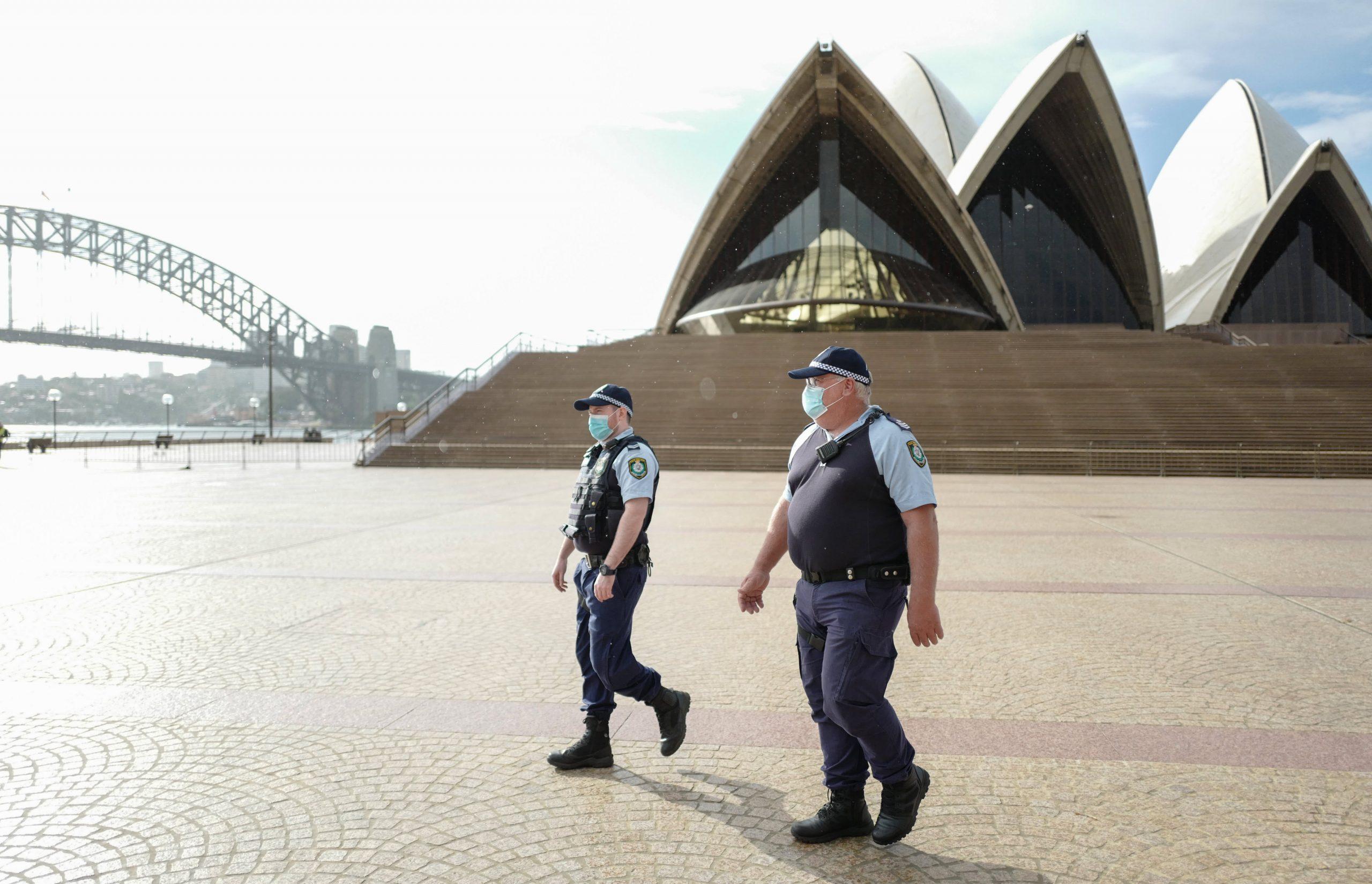 Australia warns Covid cases could continue to rise despite lockdown