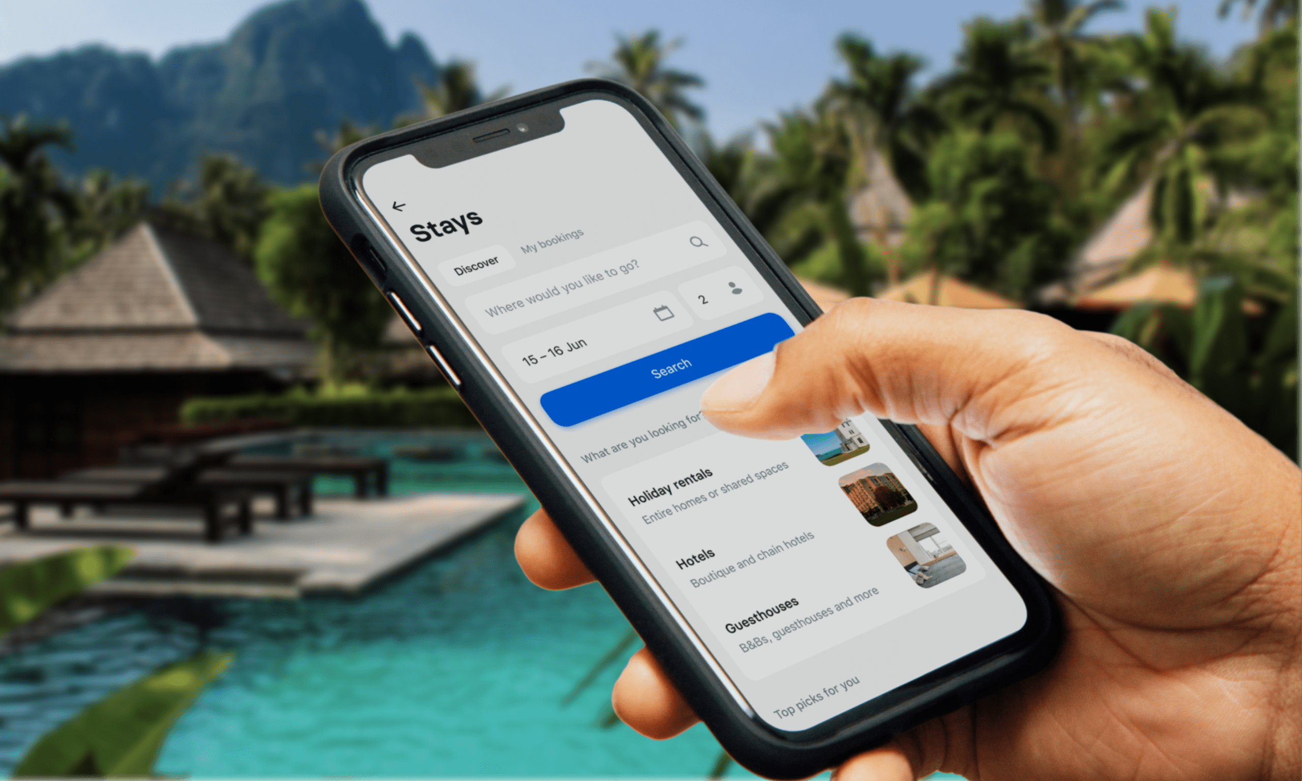 Revolut launches travel booking feature Stays