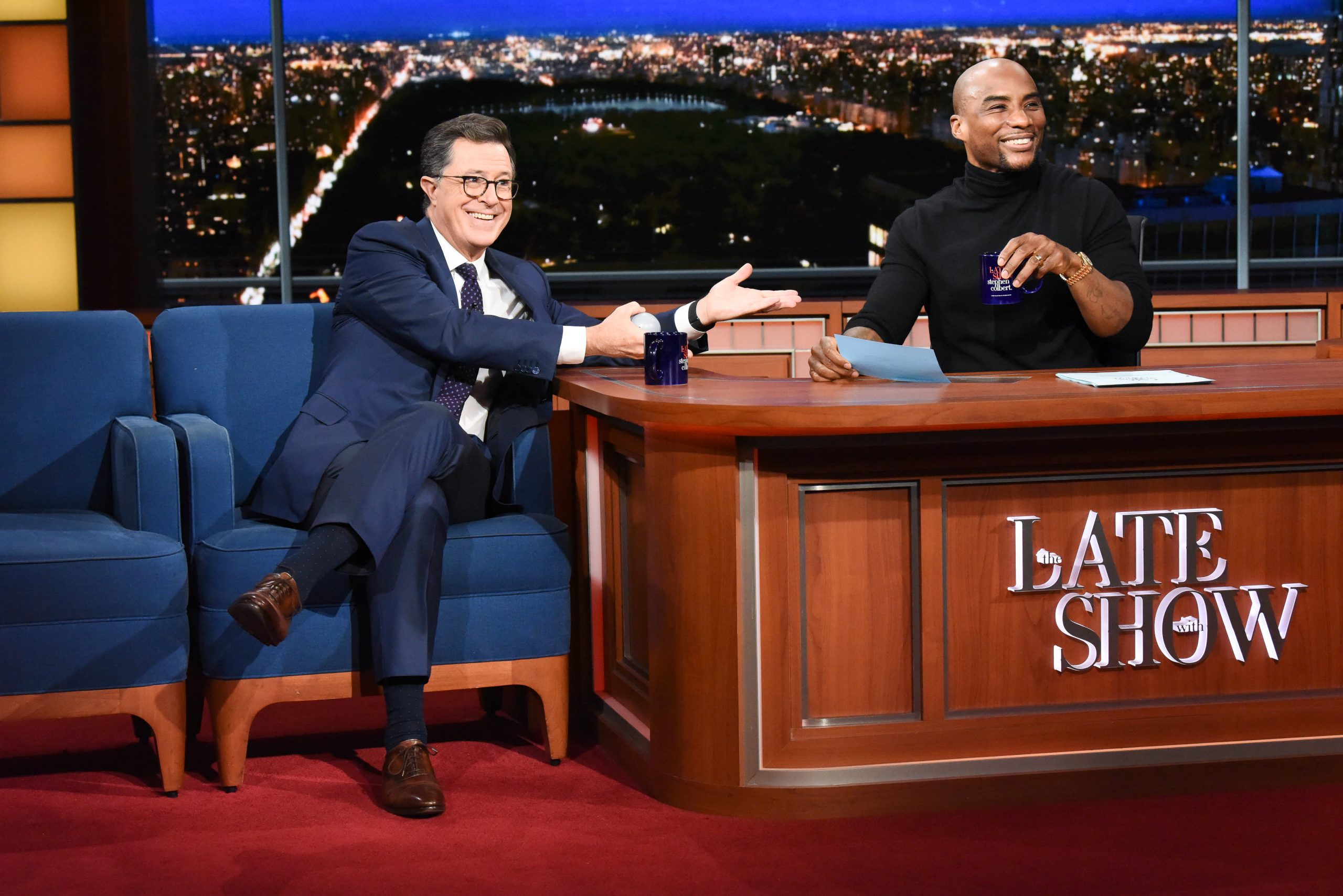 Charlamagne Tha God, Stephen Colbert to launch late night show on Comedy Central