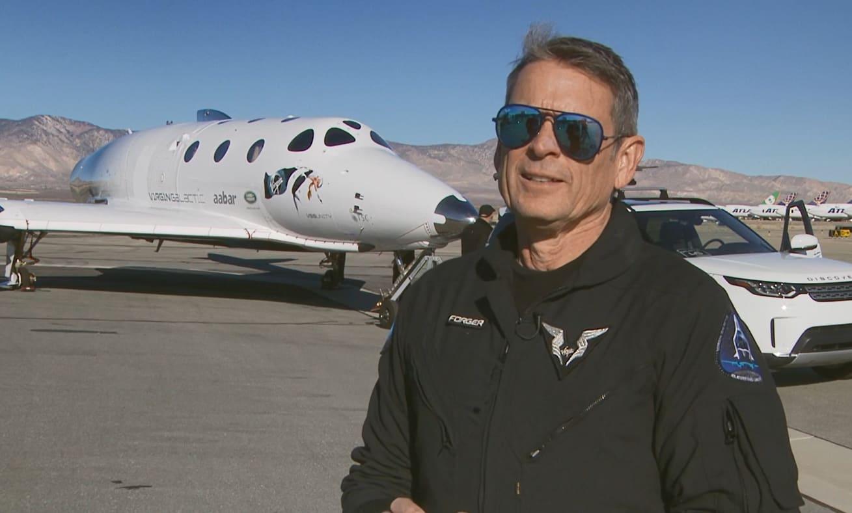 Virgin Galactic flight test director Mark Stucky leaves company