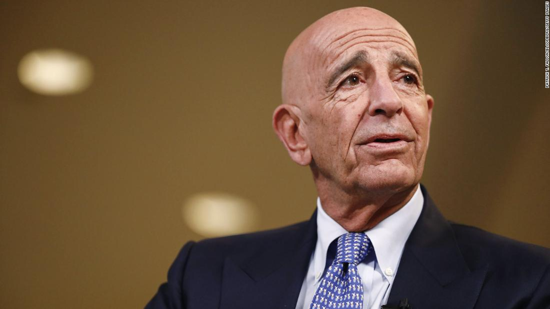 Tom Barrack: Who is the ex-Trump adviser indicted on foreign lobbying charges