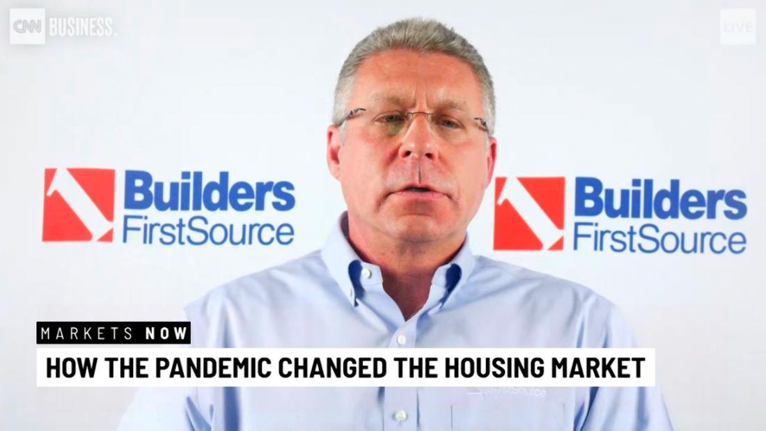 Construction CEO: No housing market slowdown in sight