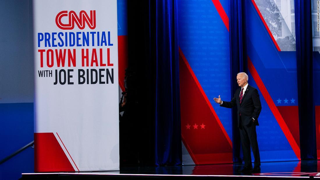 Watch the entire CNN town hall with President Joe Biden
