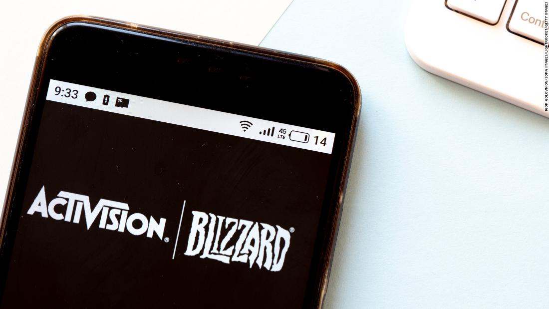 California sues Activision Blizzard, alleging culture of sexual harassment