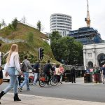London's Marble Arch Mound is a heap of earth