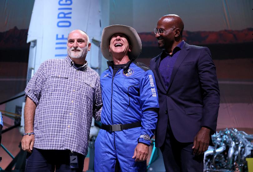Bezos awards José Andrés, Van Jones with $100M