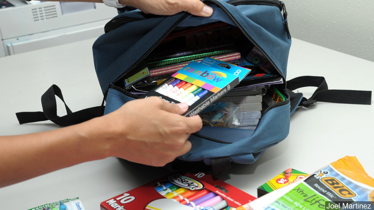 There will probably be a shortage of back-to-school supplies