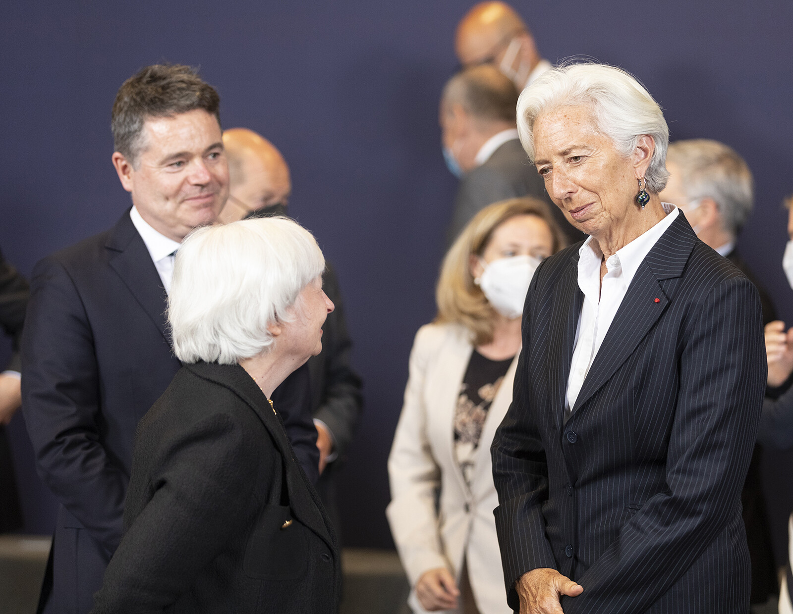 Thierry Monasse/Getty ImagesPresident of the European Central Bank Christine Lagarde will host a press conference on July 22.