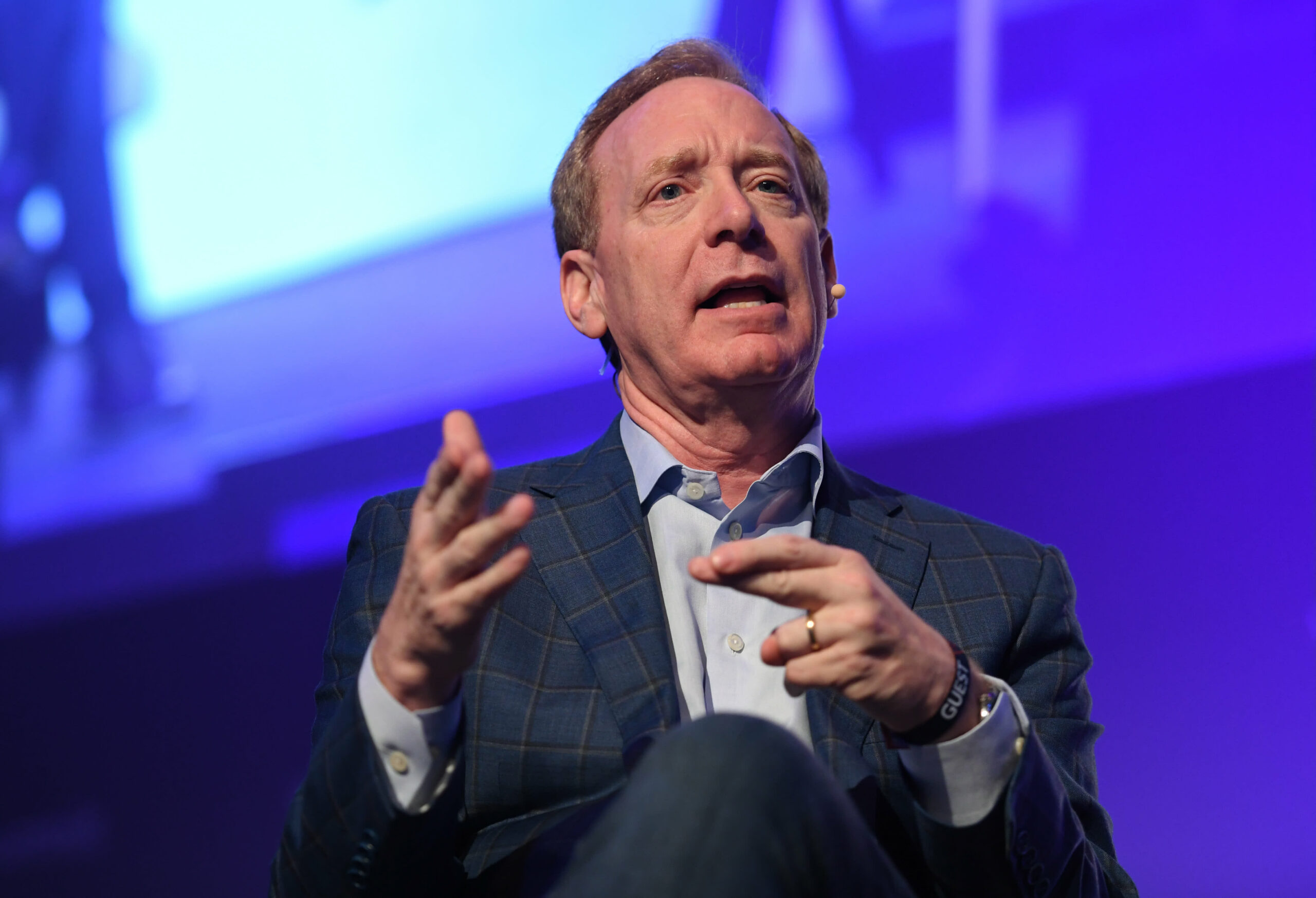 Microsoft makes top lawyer Brad Smith its vice chair