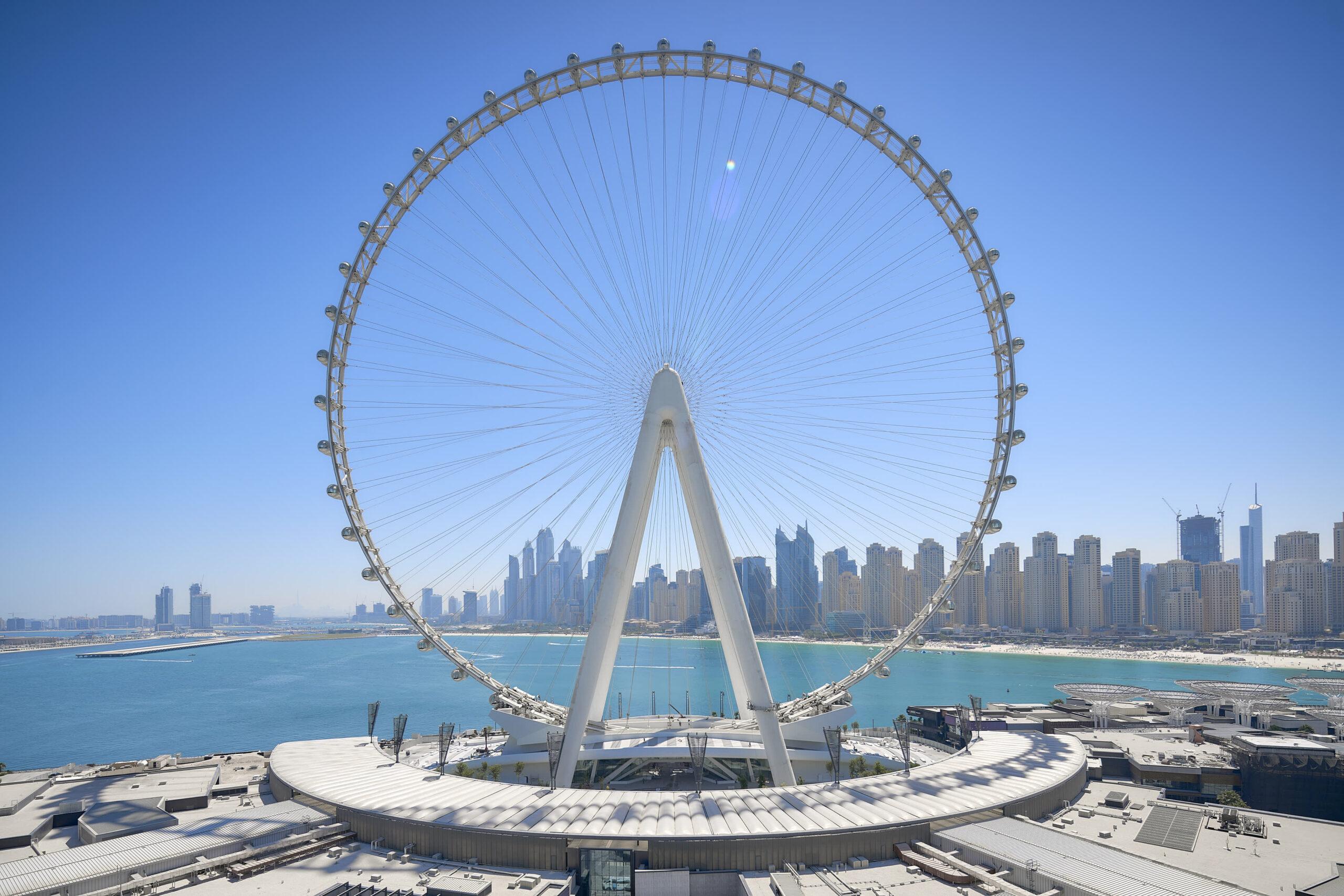 Ain Dubai, the world's largest ferris wheel, is opening in Dubai
