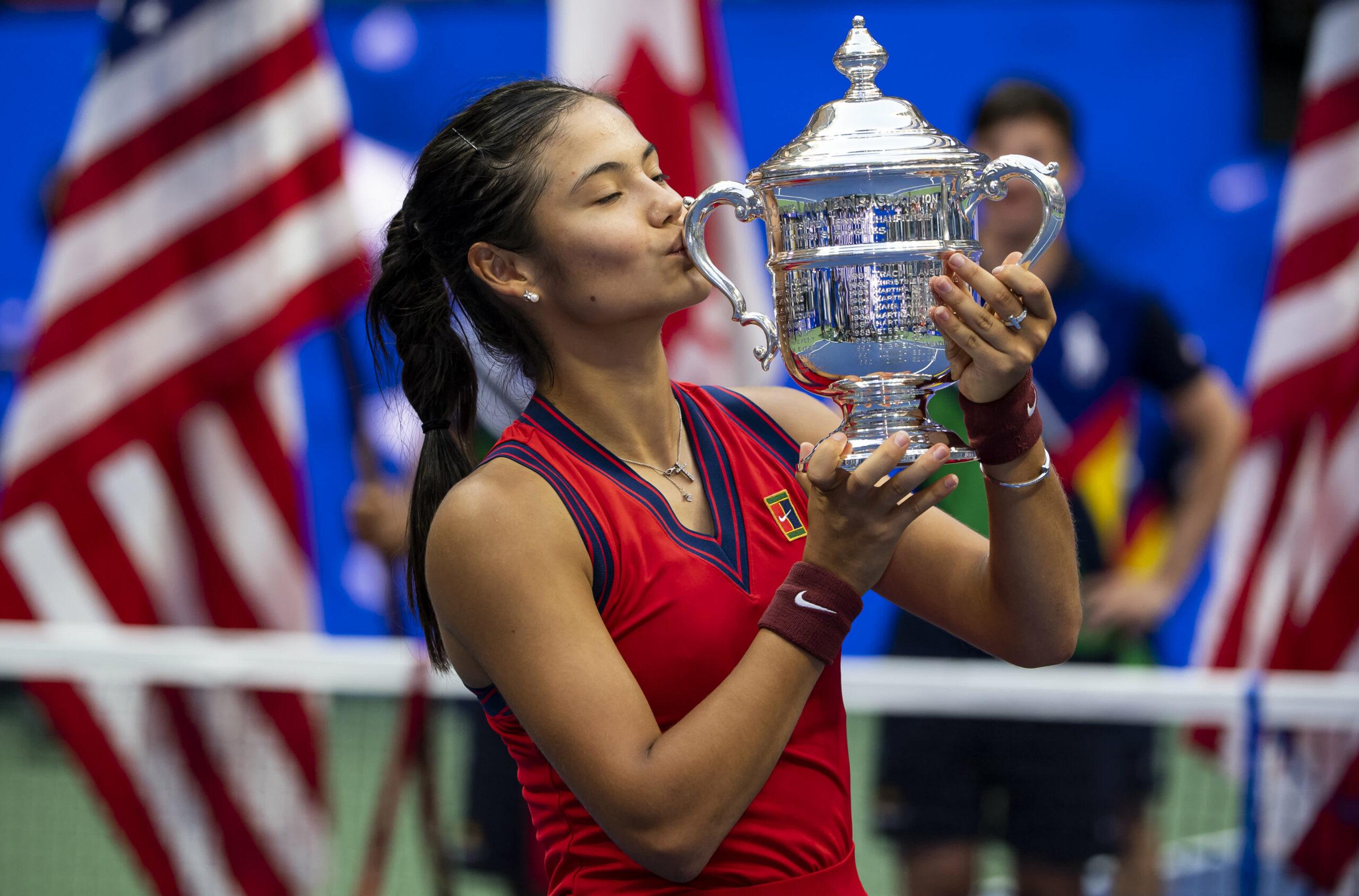 Emma Raducanu to earn $2.5 million for U.S. Open win