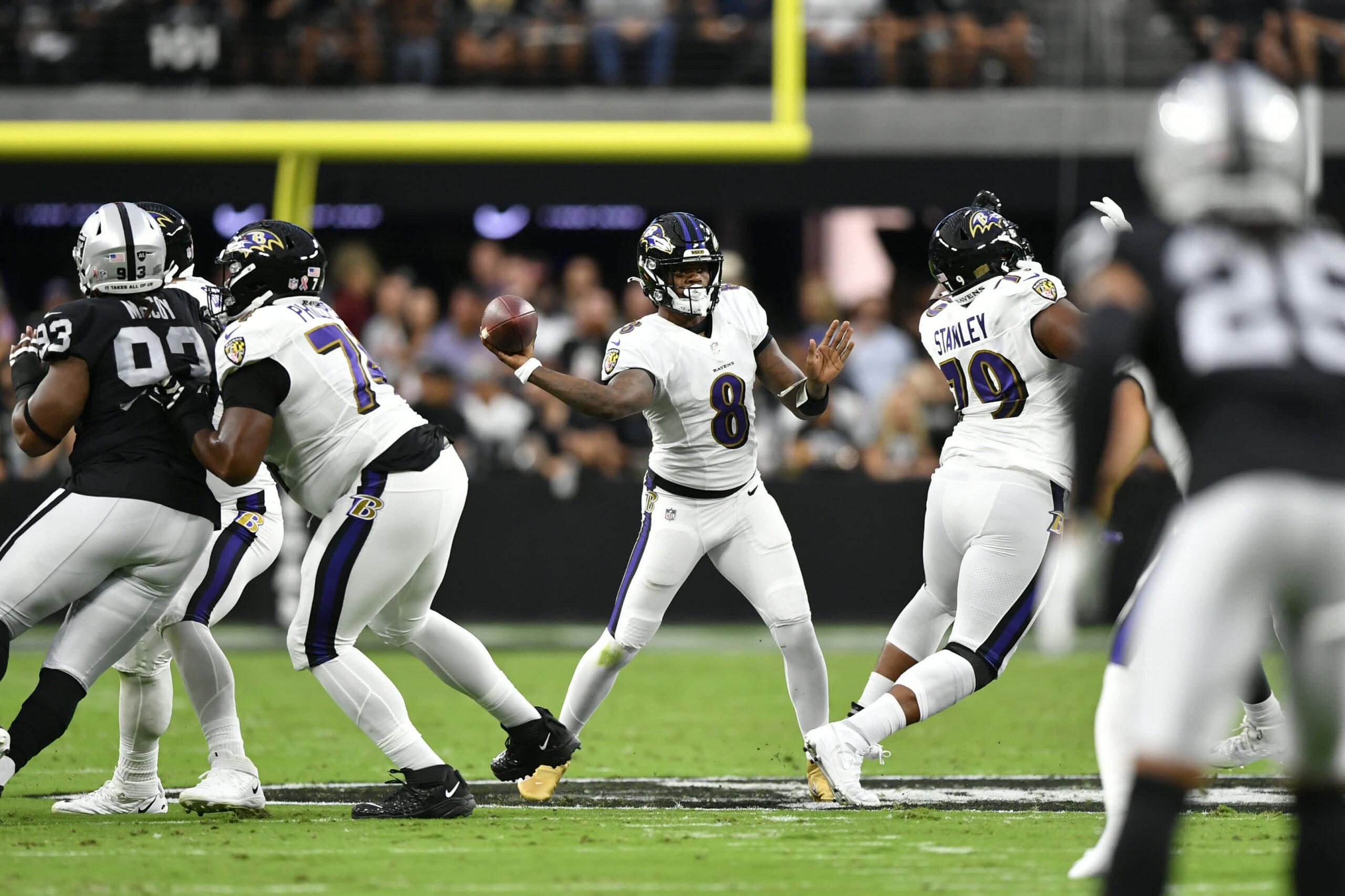ESPN Monday Night Football Raiders-Ravens opener draws 15.3 million