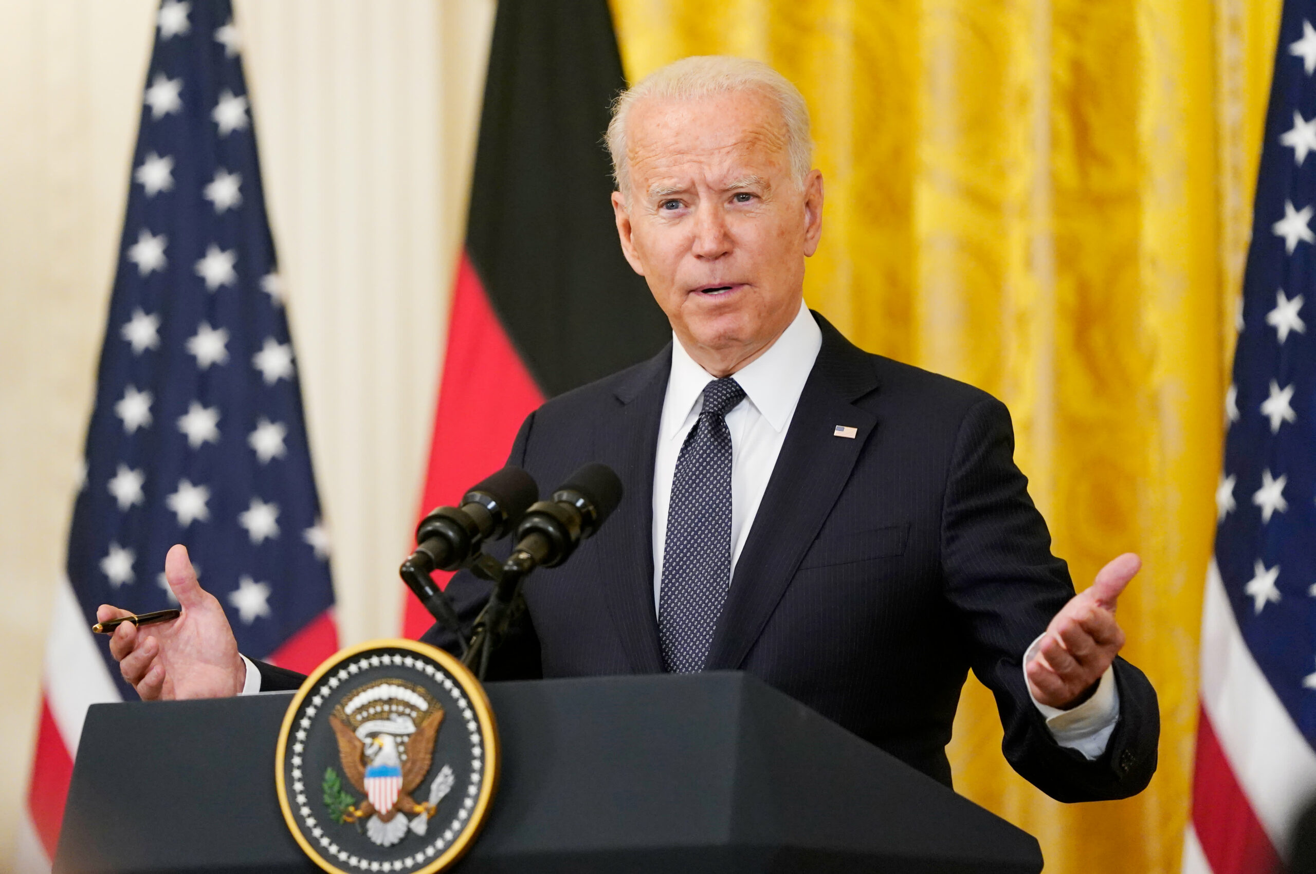 US President Biden says 'I'll be darned'