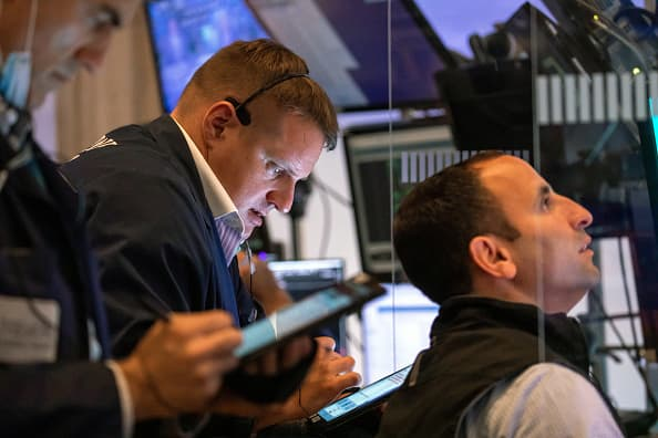 Dow futures shoot up, turn positive after key inflation data