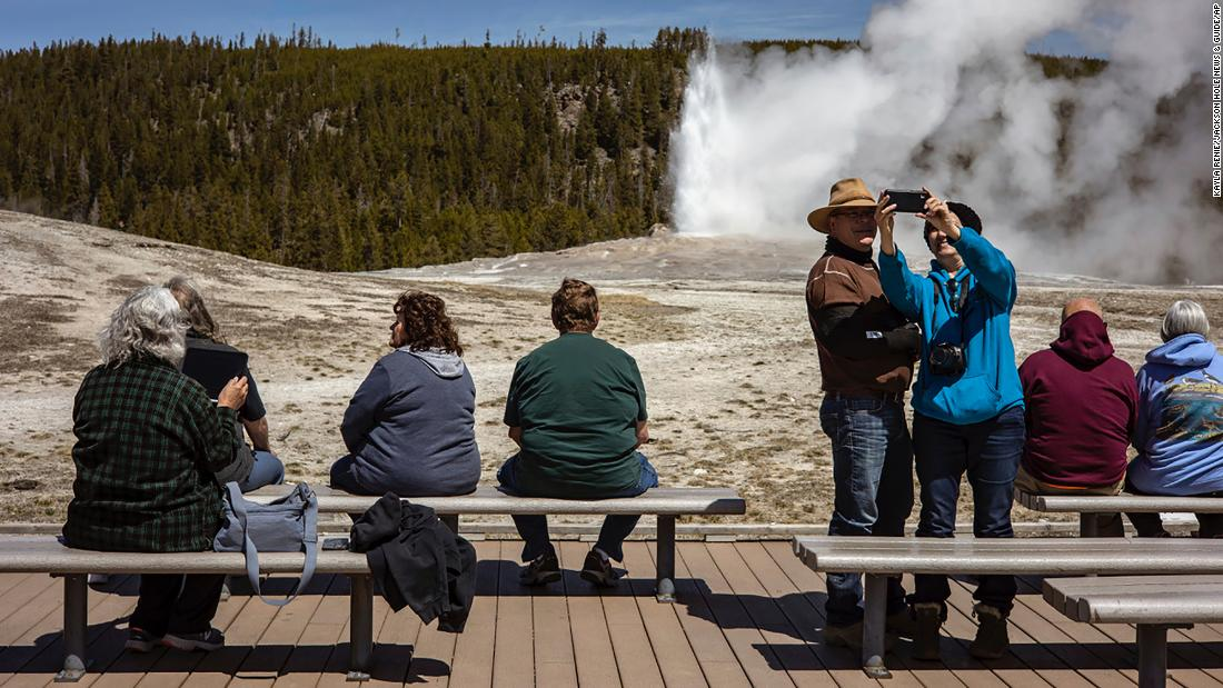 Yellowstone sets record for visits in August