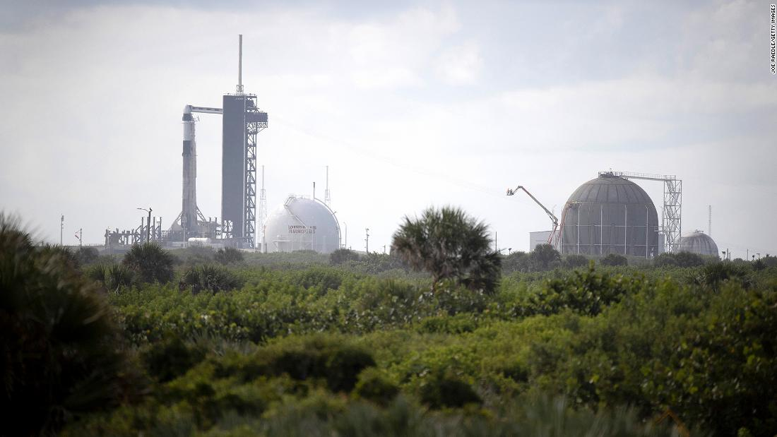 SpaceX launch from the Kennedy Space Center