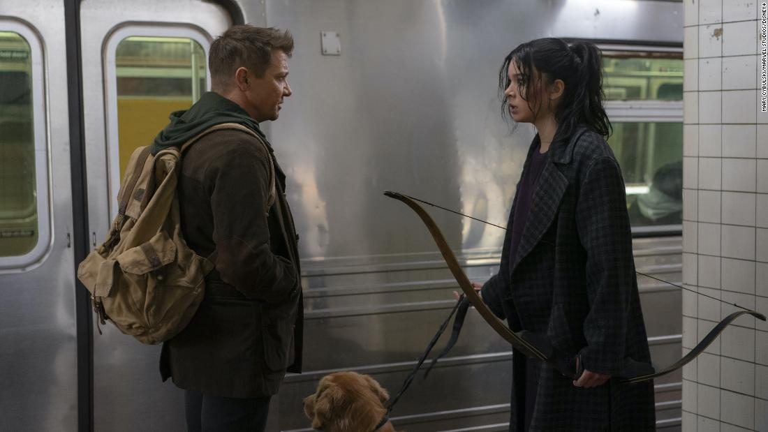'Hawkeye' trailer features Jeremy renner and Hailee Steinfeld