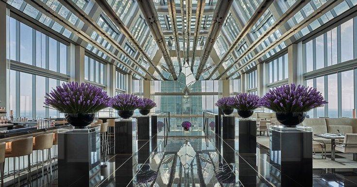 Condé Nast Traveler names Four Seasons Philadelphia one of 50 best hotels in the world
