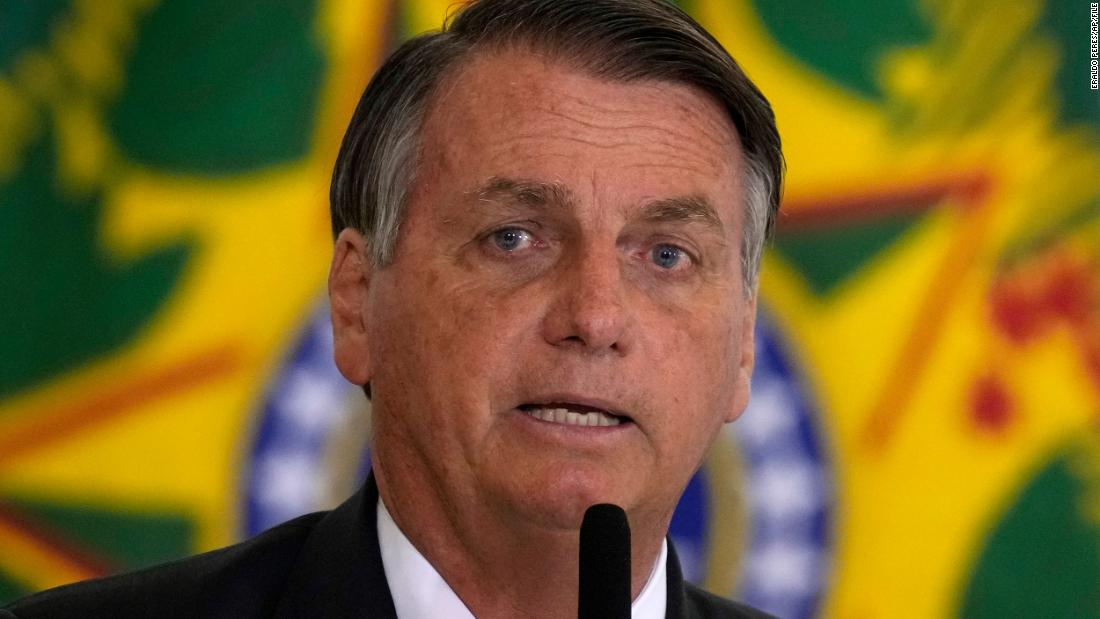 Brazil's Bolsonaro says that he will not be vaccinated against Covid-19